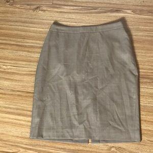Jcrew lightweight wool no. 2 Pencil skirt